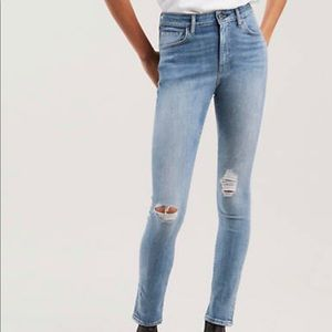 LEVIS Made & Crafted 721 Italian High rise skinny